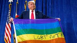 Home donald trump panders to lgbt voters