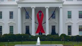 Home whitehouse aids ribbon