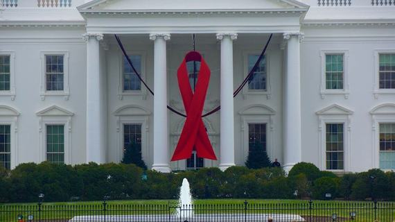 Index whitehouse aids ribbon