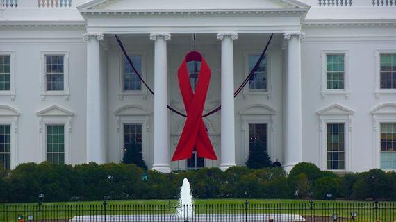 Index whitehouse aids ribbon